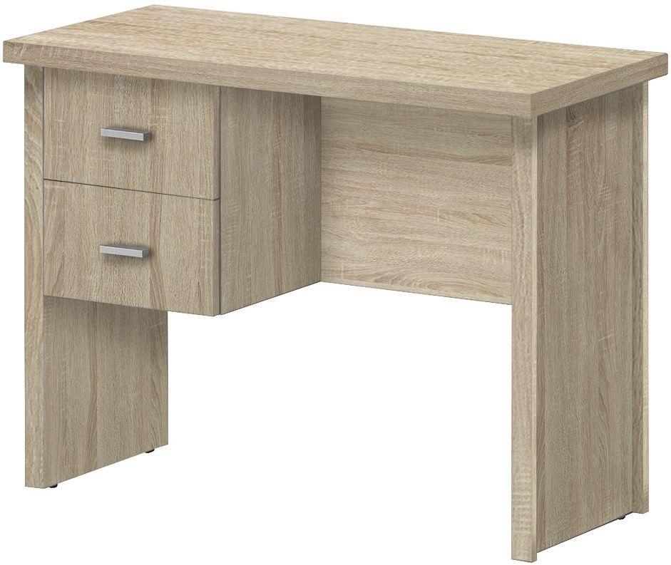 Vida Living Oscar Light Oak 2 Drawer Desk
