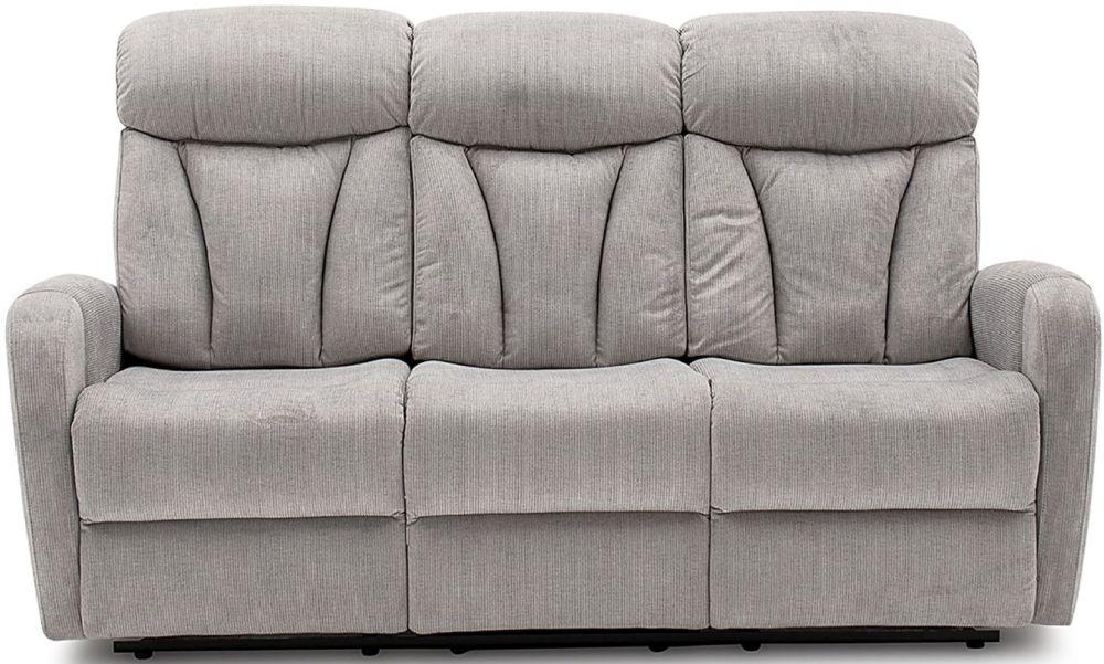 Vida Living Phoebe Fabric 3 Seater Recliner Sofa