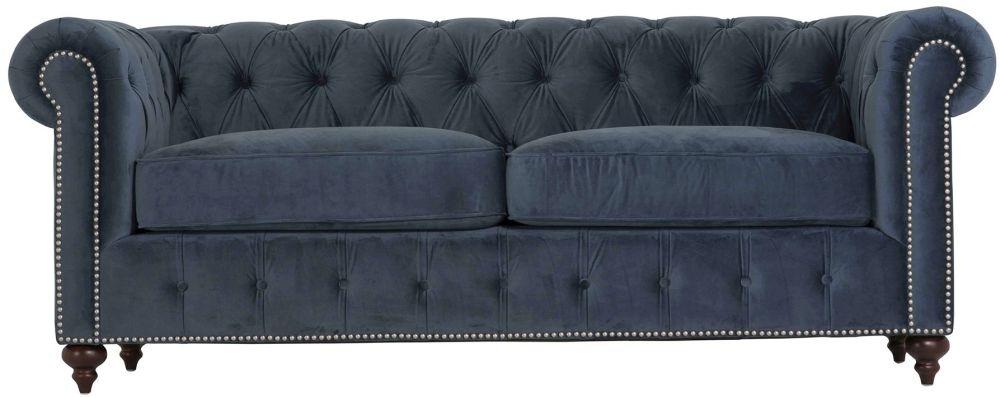 Vida Living Porter Midnight 3 Seater Sofa