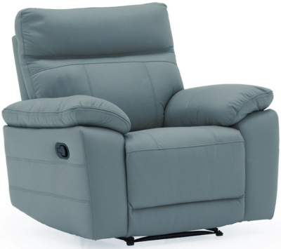 Vida Living Positano Blue 1 Seater Recliner
