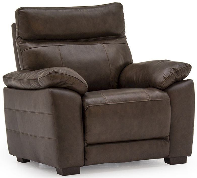Vida Living Positano Brown Leather Armchair