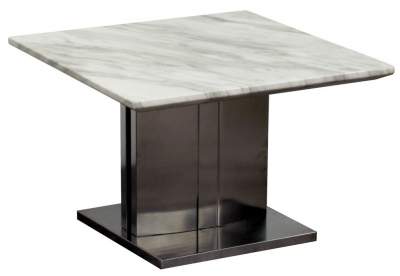 Vida Living Prestige Marble Lamp Table
