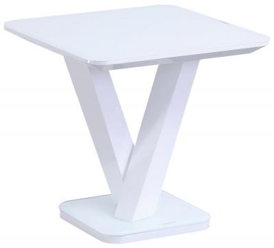 Vida Living Rafael White Gloss Lamp Table
