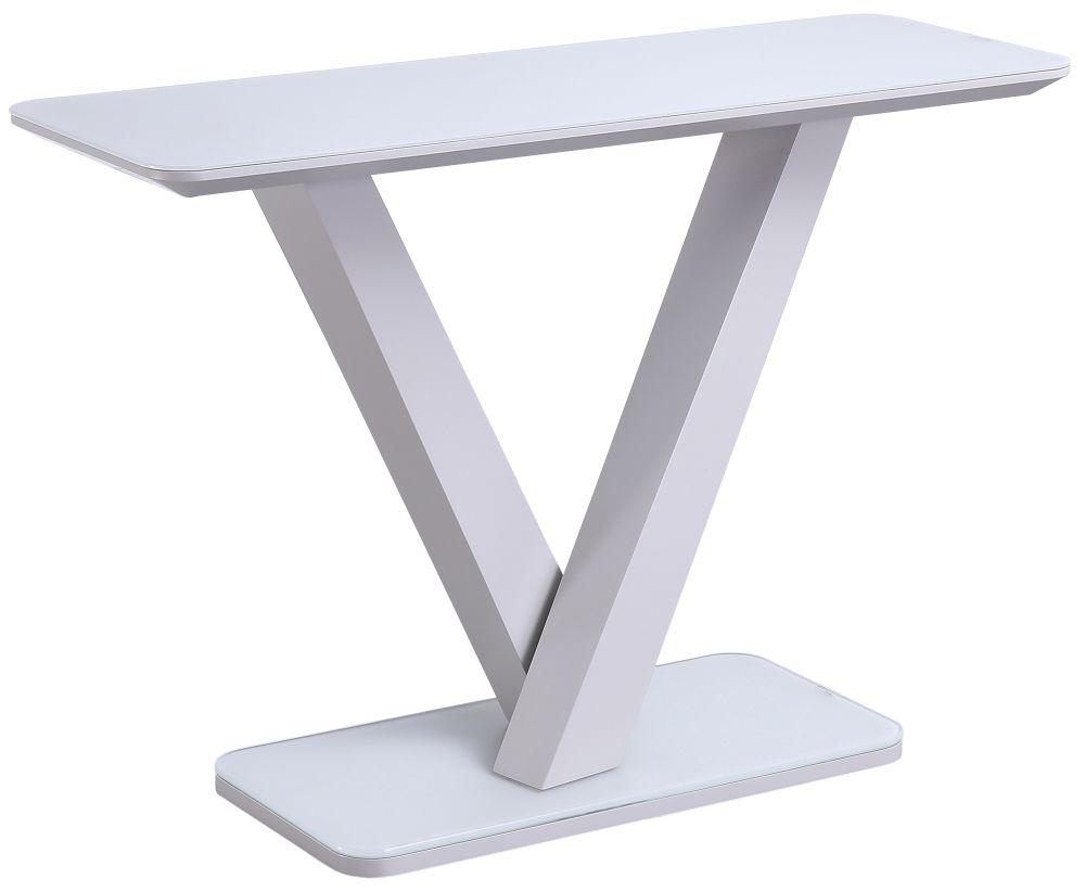Vida Living Rafael Light Grey Console Table