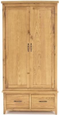 Vida Living Ramore Oak 2 Door Wardrobe