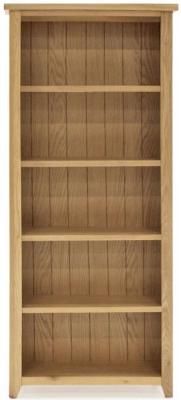 Vida Living Ramore Oak Tall Large Bookcase