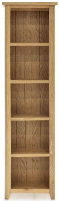Vida Living Ramore Oak Tall Slim Bookcase