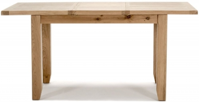 Vida Living Ramore Oak 150cm-190cm Extending Dining Table
