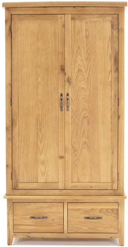 Vida Living Ramore Oak 2 Door Wardrobe