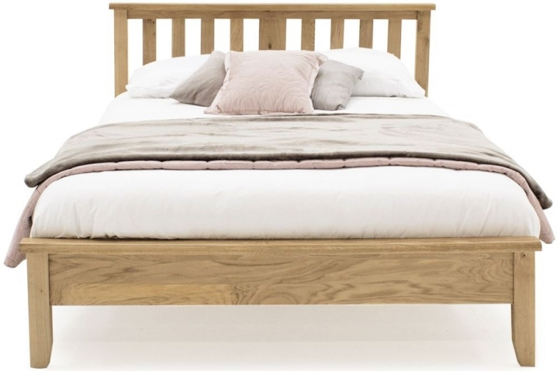 Vida Living Ramore Oak Low Foot End Bed
