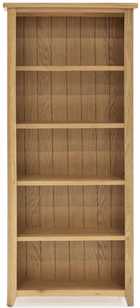 Vida Living Ramore Oak Tall Wide Bookcase