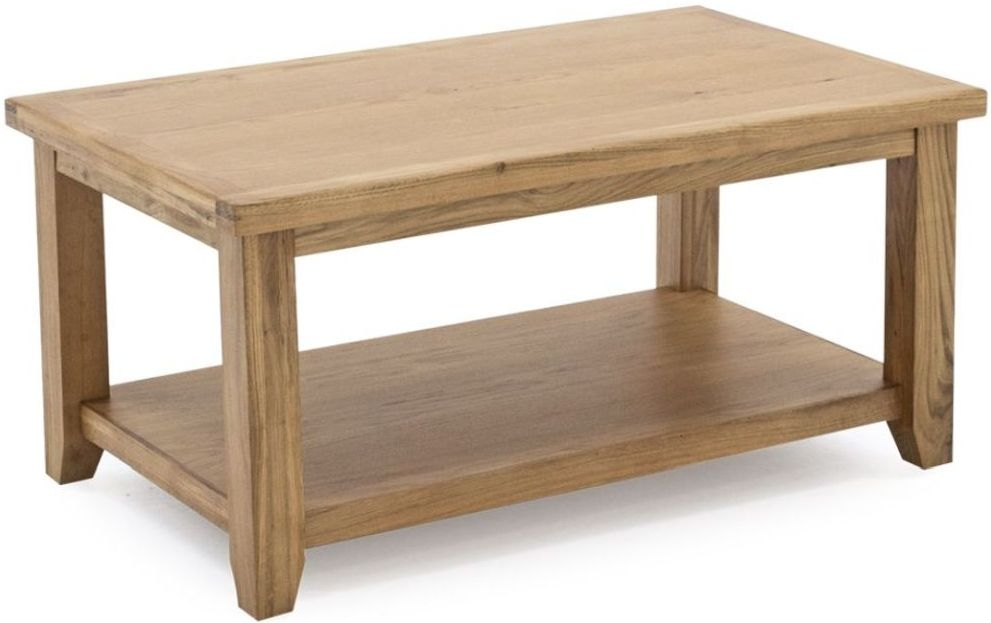 Vida Living Ramore Oak Coffee Table