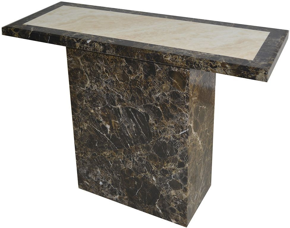 Vida Living Ravelli Marble Console Table