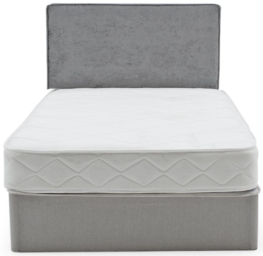 Vida Living RestEase Grey Fabric Bed