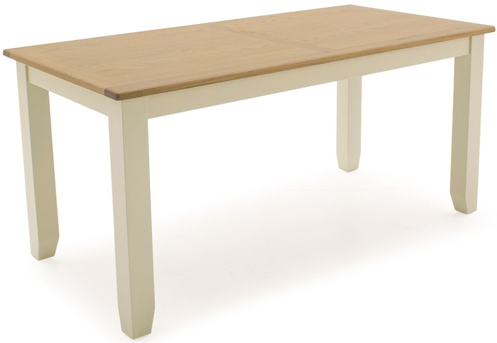 Vida Living Rochelle Painted 160cm Dining Table - Fixed