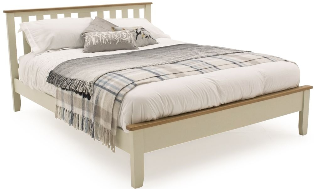 Vida Living Rochelle Painted Low Foot End Bed