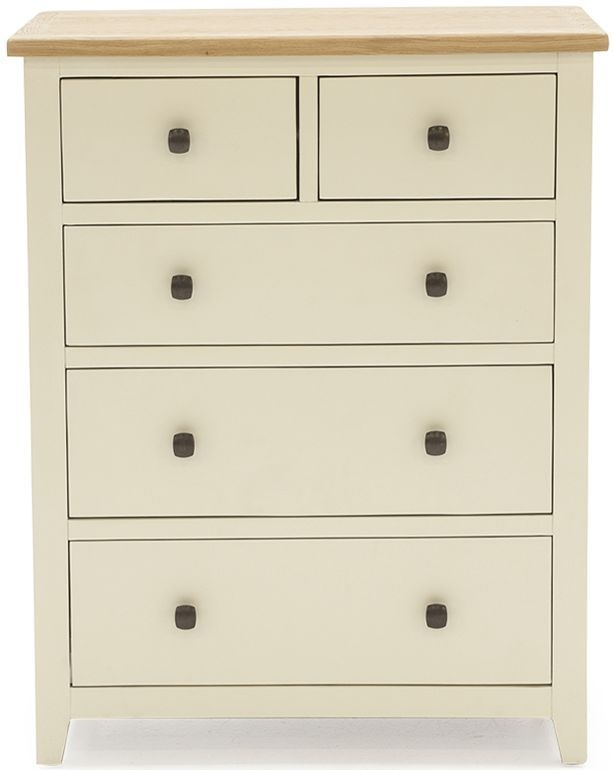 Vida Living Rochelle Painted Chest of Drawer - 2+3 Drawer Tall