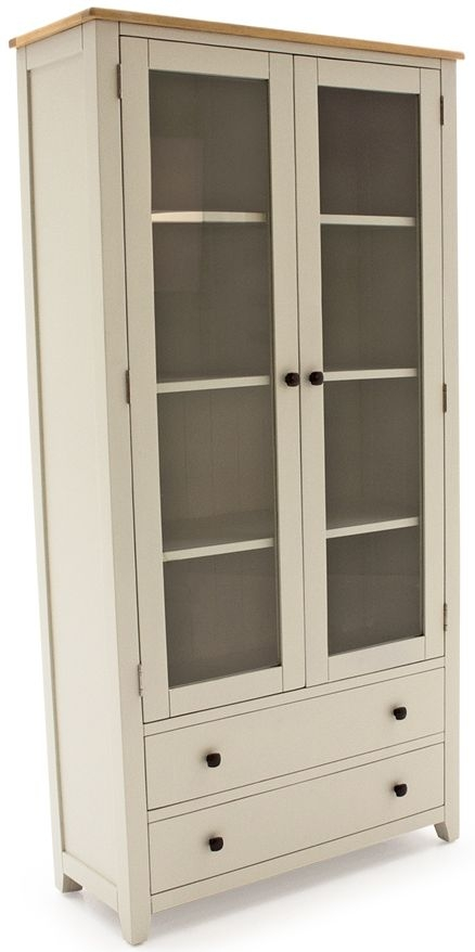 Vida Living Rochelle Painted Display Cabinet