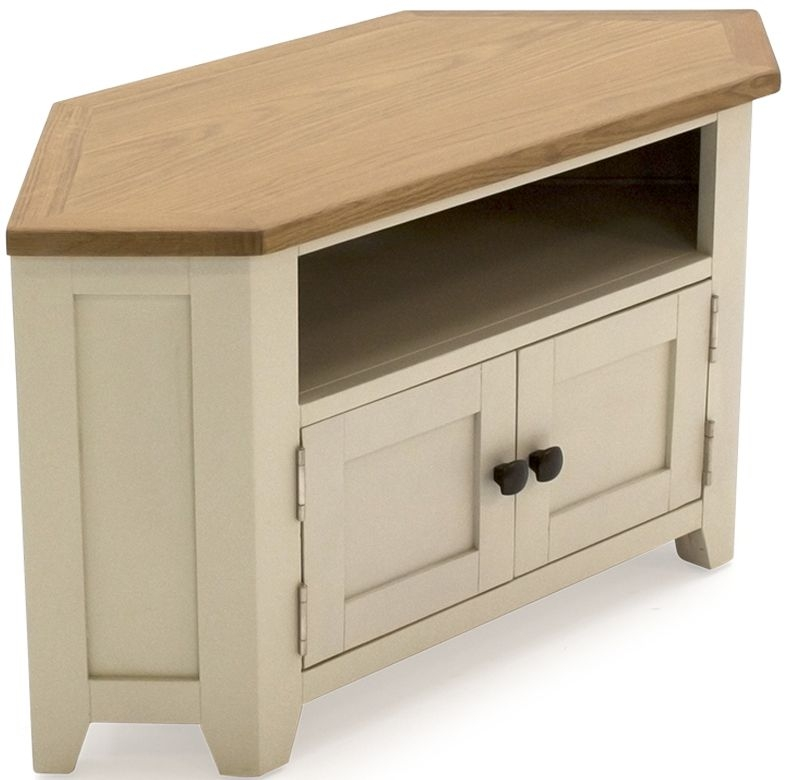 Vida Living Rochelle Painted 2 Door Corner TV Unit