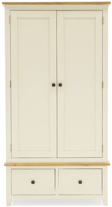 Vida Living Rochelle Painted Wardrobe - 2 Door 2 Drawer