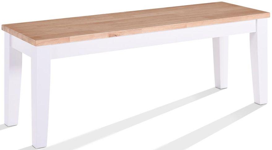 Vida Living Rona Grey Painted Bench