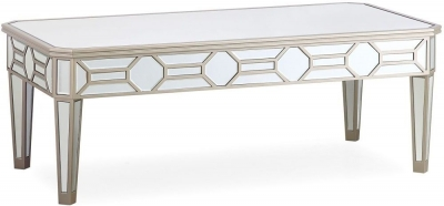 Vida Living Rosa Mirrored Coffee Table