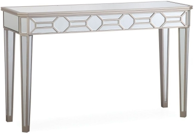 Vida Living Rosa Mirrored Console Table