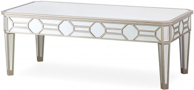 Mirrored Coffee Tables Cfs Mirrored Coffee Table Sale Uk