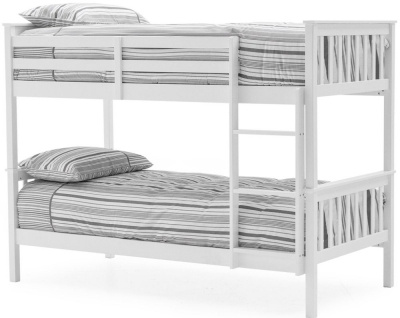 Vida Living Salix 3ft White Painted Bunk Bed