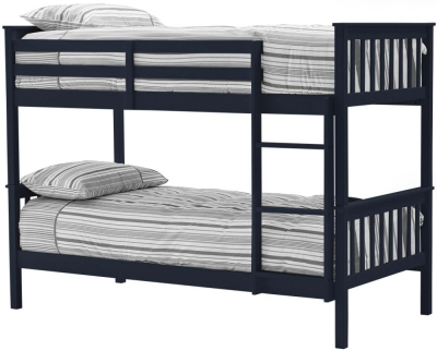 Vida Living Salix 3ft Blue Painted Bunk Bed