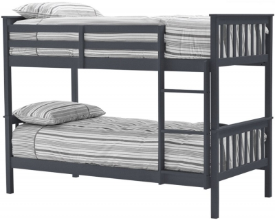 Vida Living Salix 3ft Grey Painted Bunk Bed