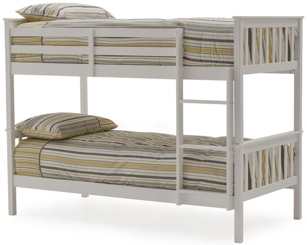 Vida Living Salix White Bunk Bed