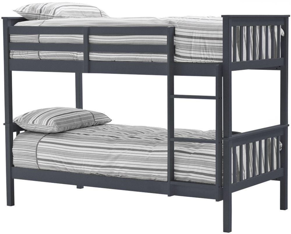 Vida Living Salix 3ft Grey Painted Bunk Bed