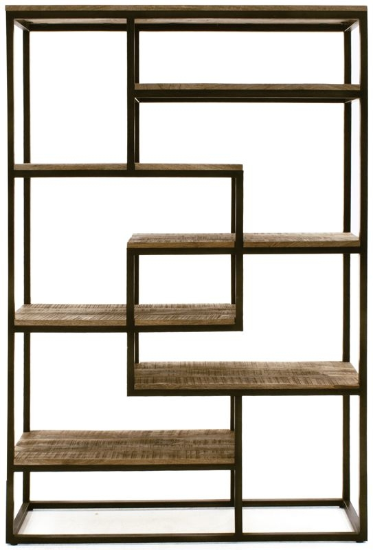 Vida Living Savannah Tall Wide Bookcase