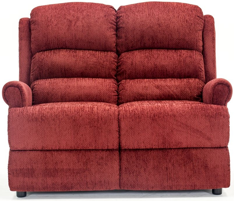 Vida Living Shelby Red 2 Seater Fixed Sofa