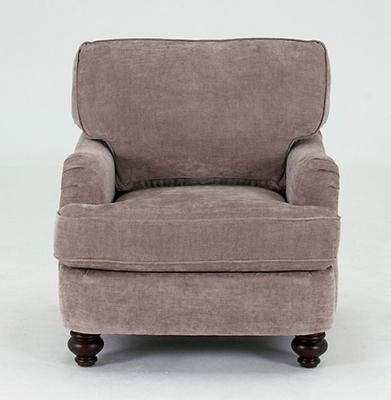 Vida Living Sherlock Fabric Armchair - Mink