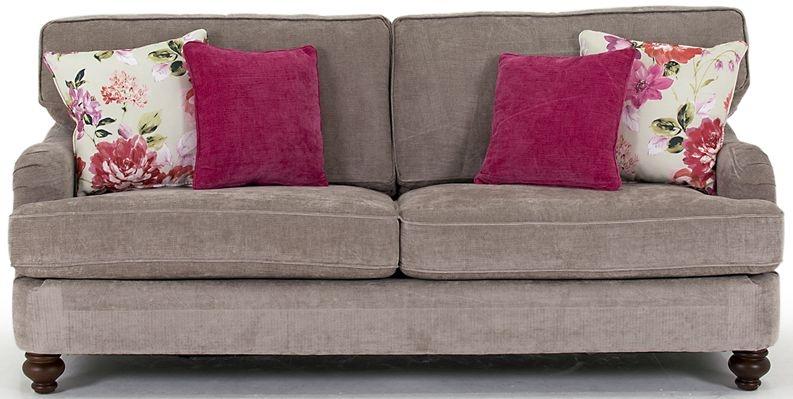 Vida Living Sherlock 3 Seater Sofa with 4 Scatter Cushions