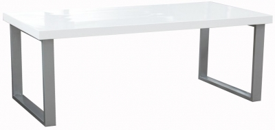 Vida Living Sierra White Gloss Coffee Table
