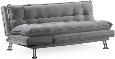 Vida Living Sonder Grey Velvet Sofa Bed