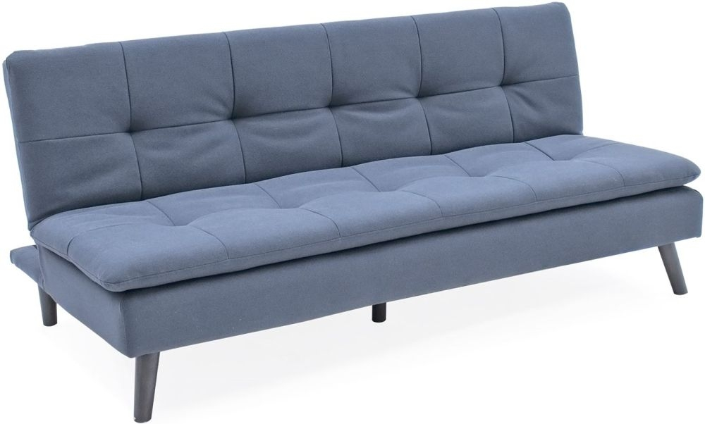 Vida Living Hannah Sofa Bed - Blue Fabric
