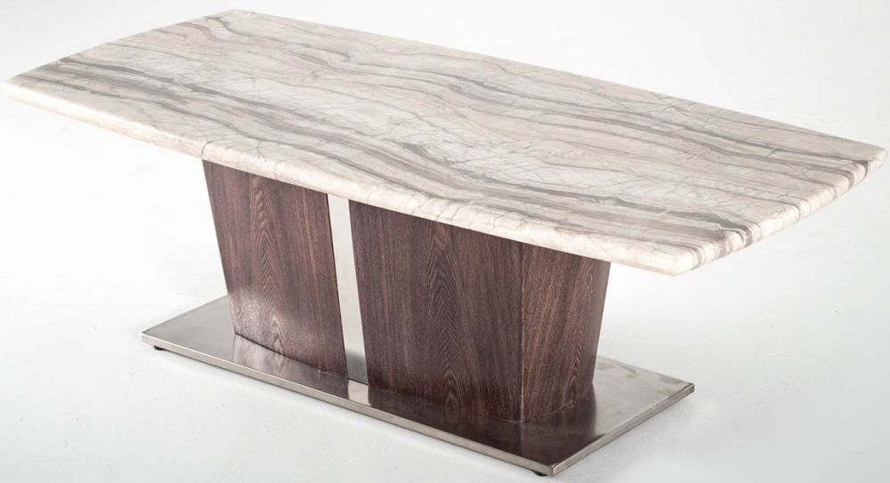Vida Living Stonewood Marble Coffee Table
