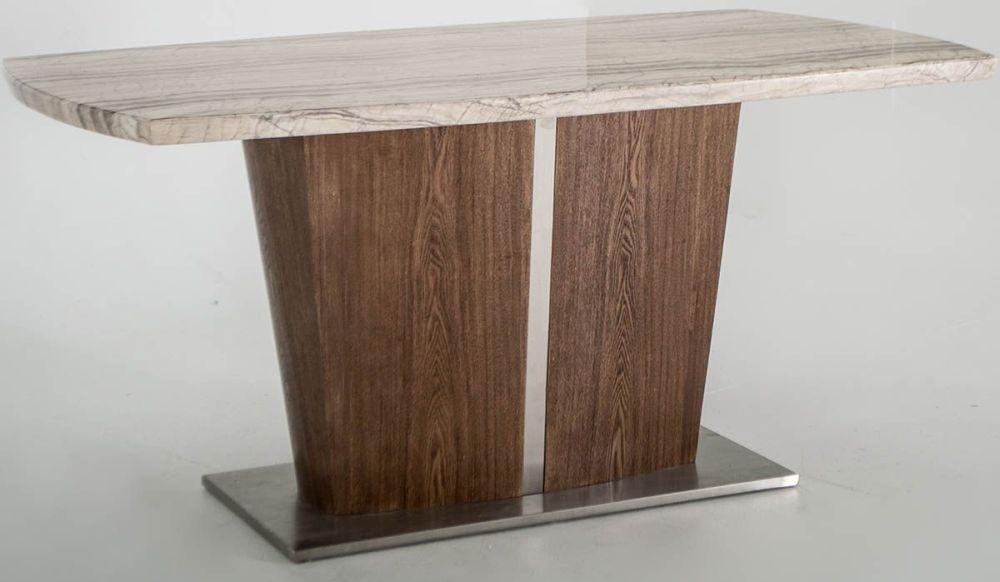 Vida Living Stonewood Marble Dining Table