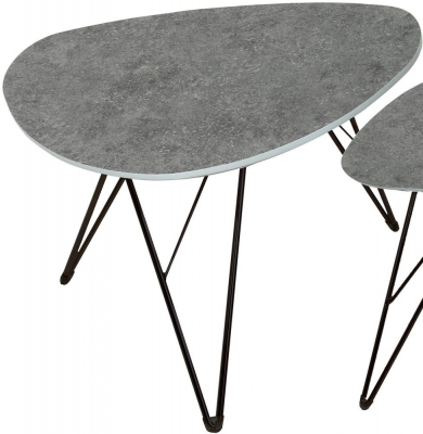 Vida Living Otto Grey Concrete Coffee Table