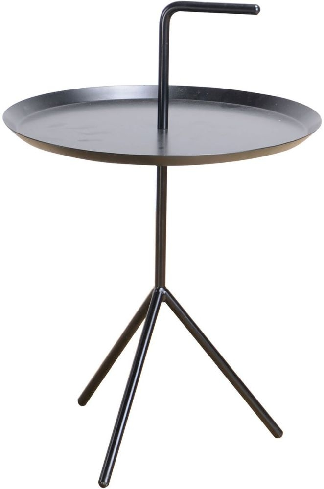 Vida Living Ragna Black Drinks Table