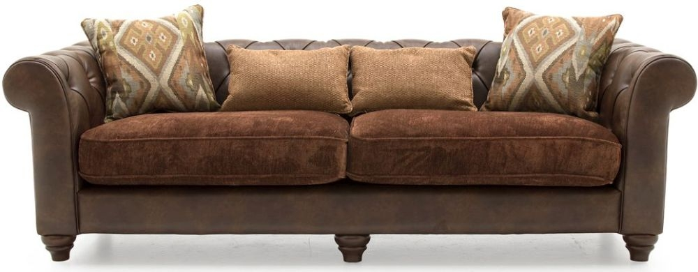 Vida Living Tamworth 4 Seater Sofa with 4 Scatter Cushions