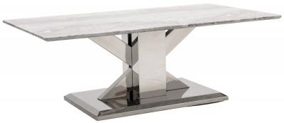 Vida Living Tremmen Grey Marble Coffee Table