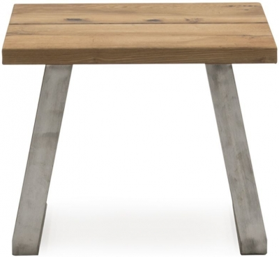 Vida Living Trier Oak Lamp Table