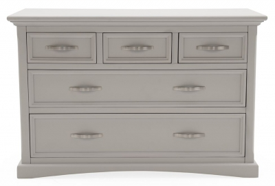 Vida Living Turner Grey Painted 2+3 Drawer Dressing Chest