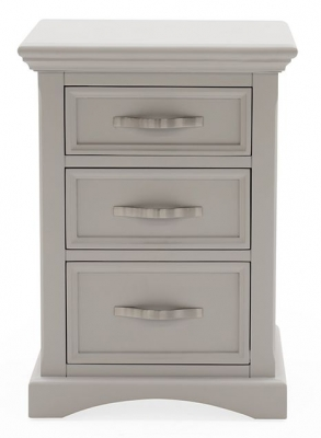 Vida Living Turner Grey Painted Bedside Cabinet