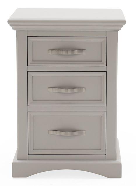 Vida Living Turner Grey Painted Bedside Cabinet